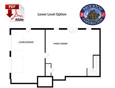 main level floor plan image
